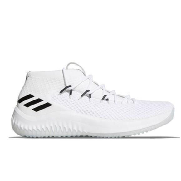 adidas Shoes | Adidas Dame 4 Core White